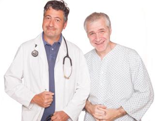 Medizinkabarett zugunsten der Bekämpfung des plötzlichen Herztodes